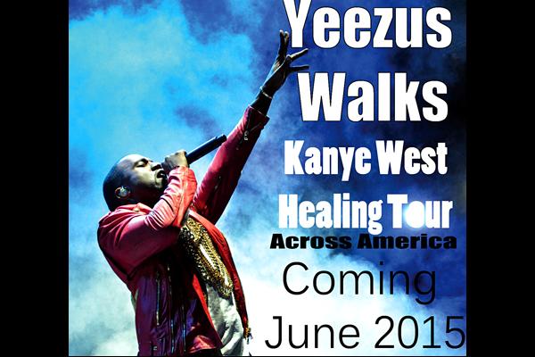 Yeezus walks across America