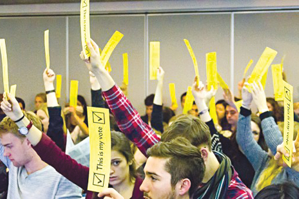 SFUO to pilot general assembly next month