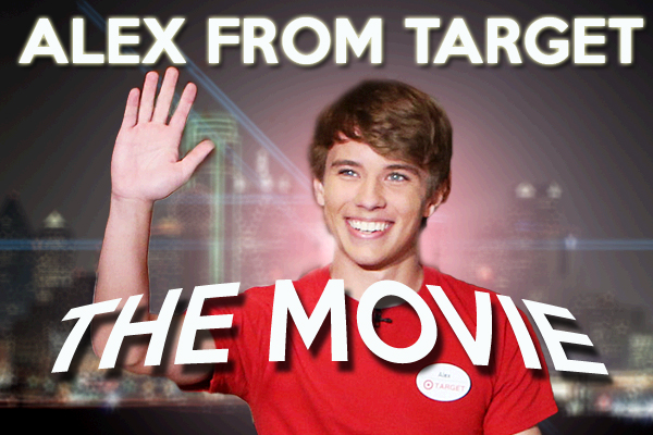 Alex from Target set to star in feature film trilogy