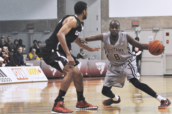 Gees hand Carleton first regular-season loss in two years
