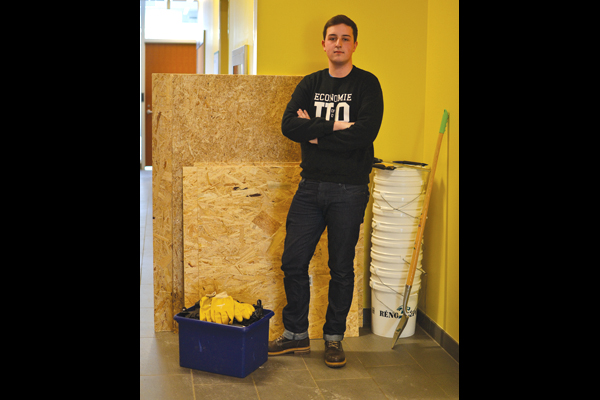 SFUO snow fort contest falls flat
