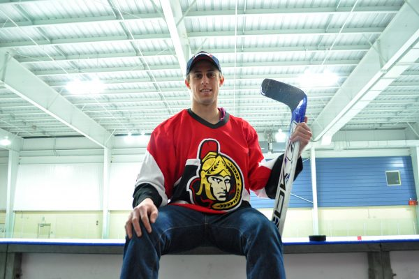 Dream comes true for goaltending Telfer student