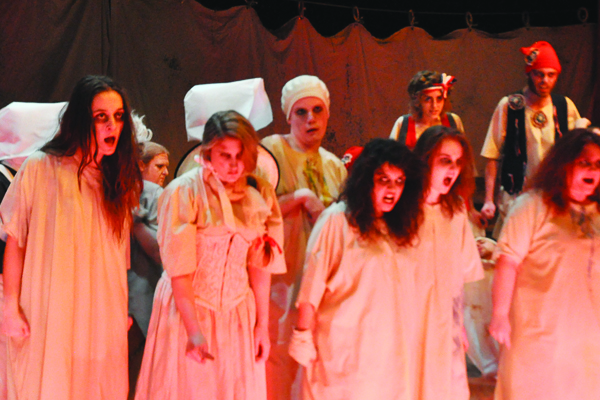 The Unicorn Theatre's performance of Marat/Sade gives voice to the patients
