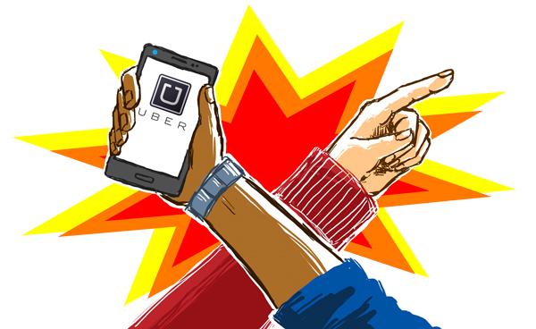 Taxi vs Uber - The Fulcrum