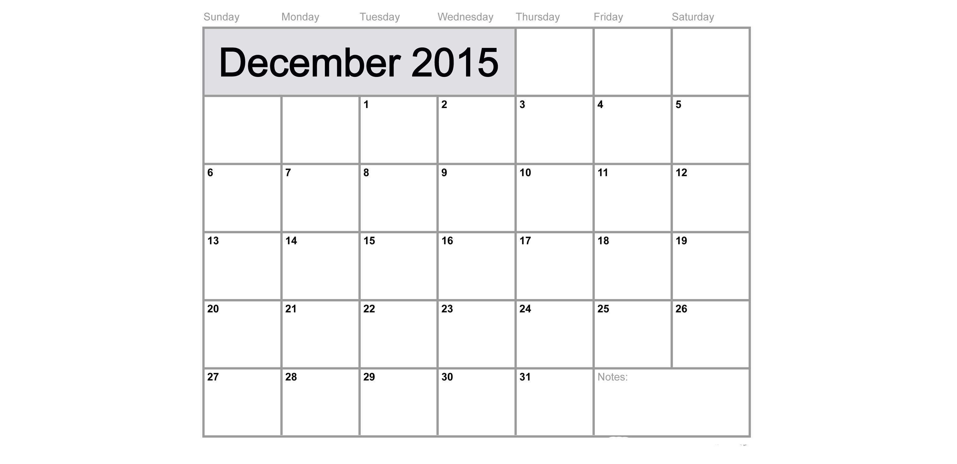 Calendar Craze October 2015 | Calendar Template 2016